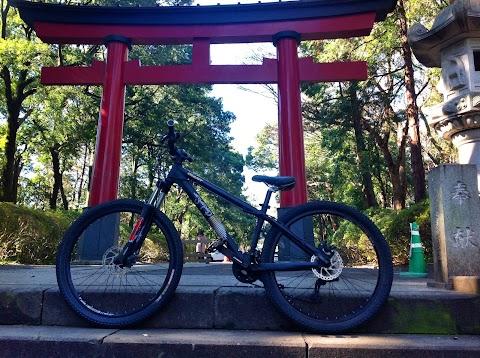 Mountain Biking in the Heart of Tokyo