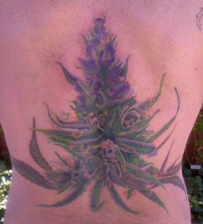 Weed Tattoos   Tattooing
