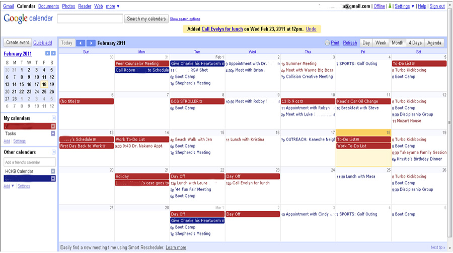 how to change owner of google calender