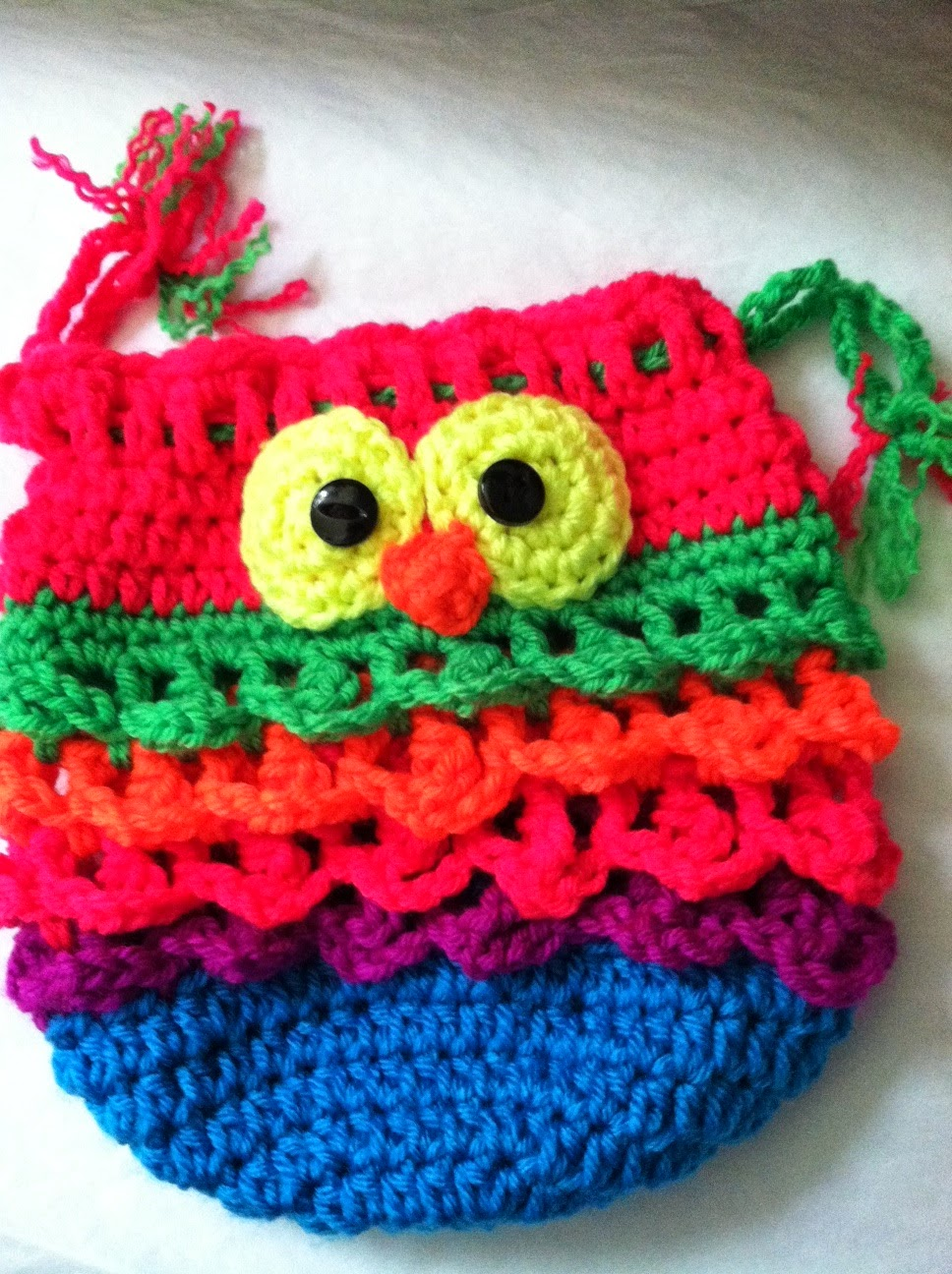 Lakeview Cottage Kids: So Cute! Crochet Owl Purse! Pattern by Snappy ...