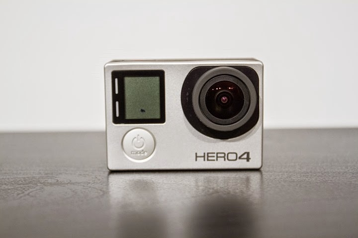gopro hero 4 - front of the camera