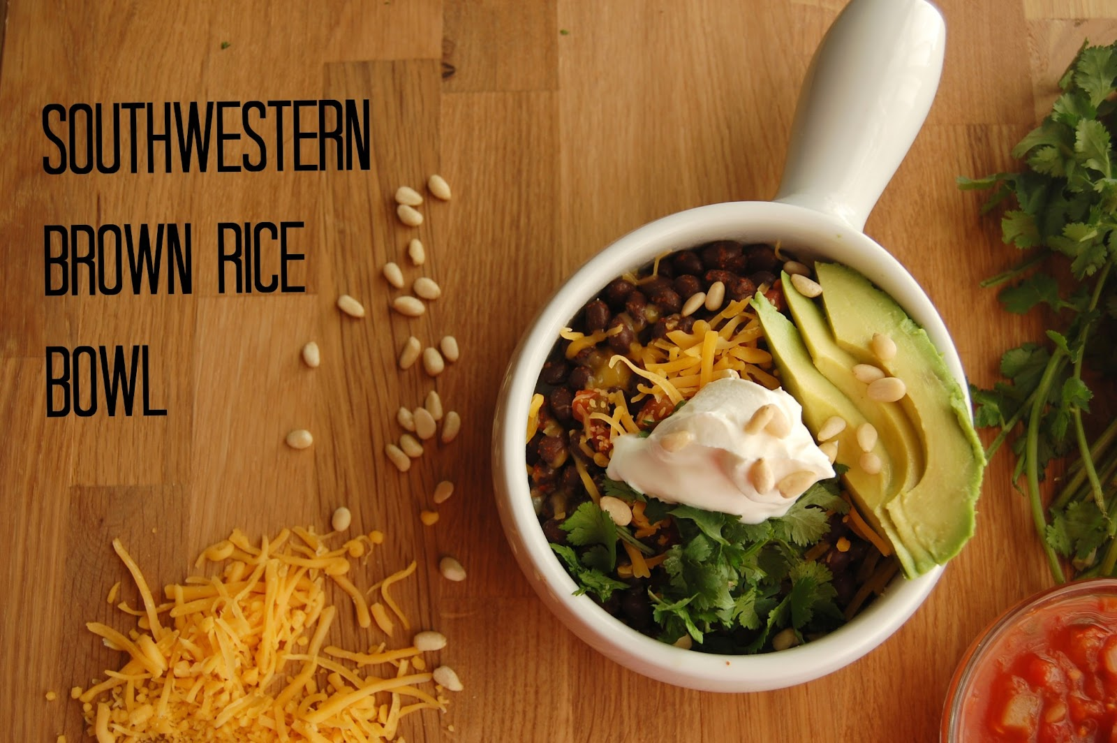 Southwest Brown Rice Bowl
