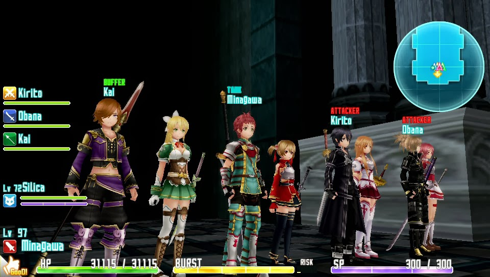 Sword Art Online MultiPlayer Game Play
