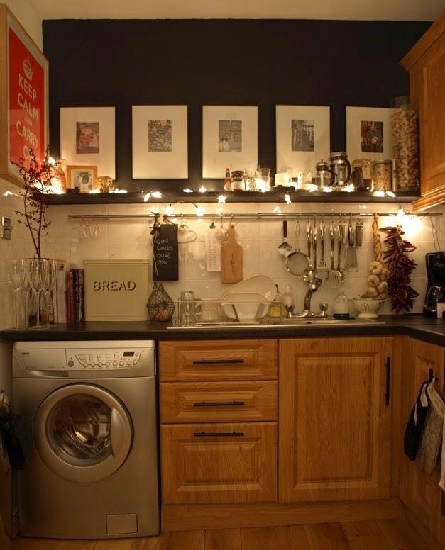 Ideas para decorar cocinas peque as colores en casa - Ideas para decorar una cocina pequena ...