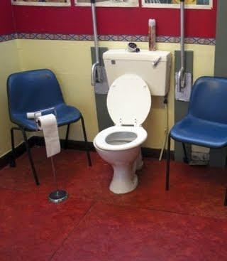 smiješne slike Javni WC