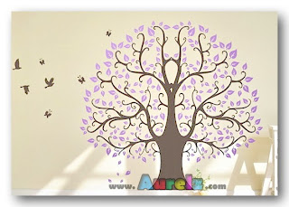 purple tree df 5098