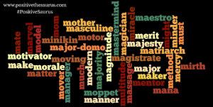 Positive Thesaurus - Positive words for you: Positive nouns that ...