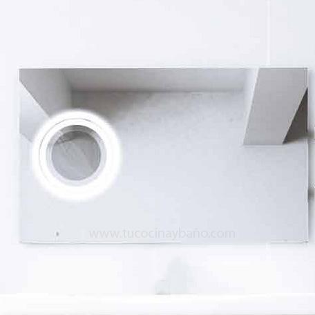 precio espejo baño lupa luz aumento