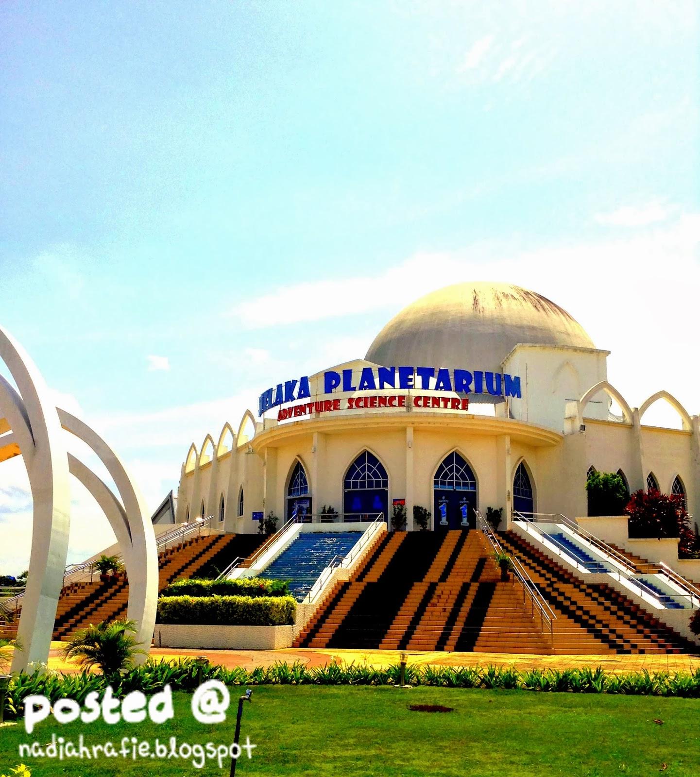 Blog Siapa Ini Jalan Jalan Melaka Planetarium