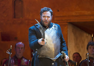 Bryan Hymel in Les Troyens at the Royal Opera House (Photo: Bill Cooper / Royal Opera House)