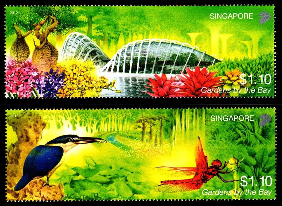 Gardens by the Bay - Presentation Pack Stamps