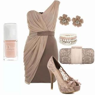 abito e scarpe da donna