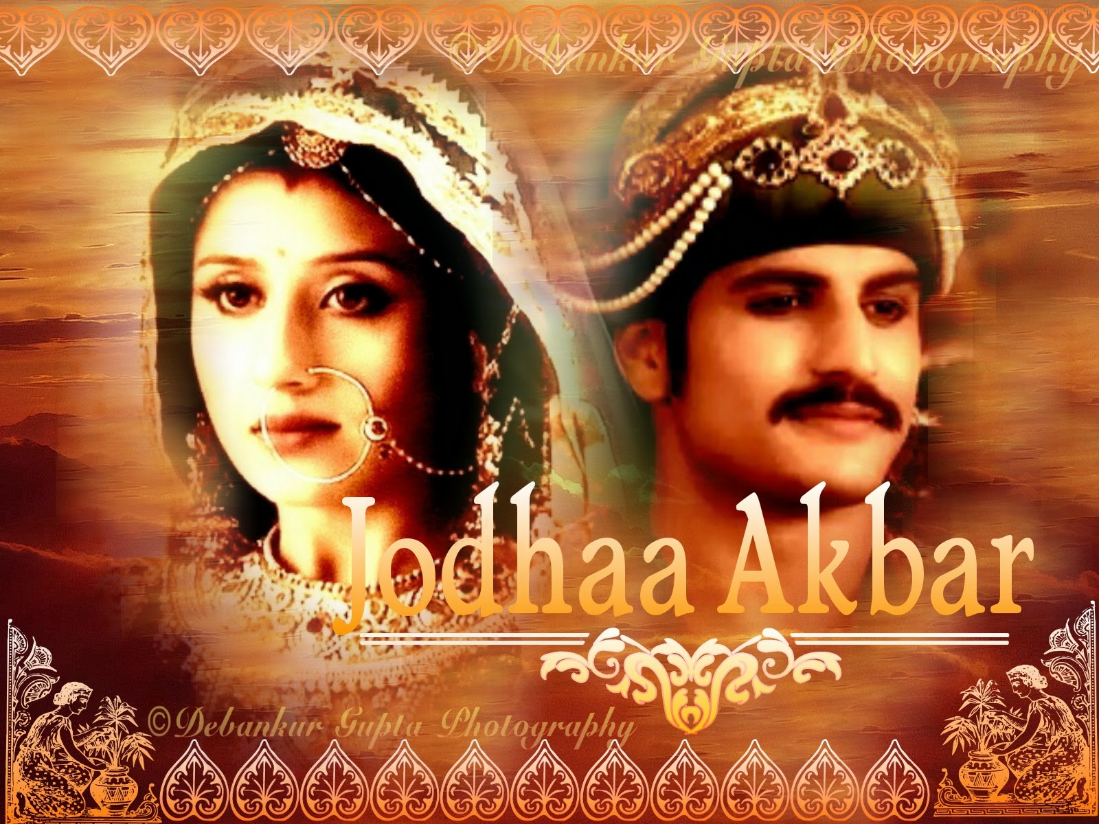 boradcast by zee tv serial jodha akbar edited pics