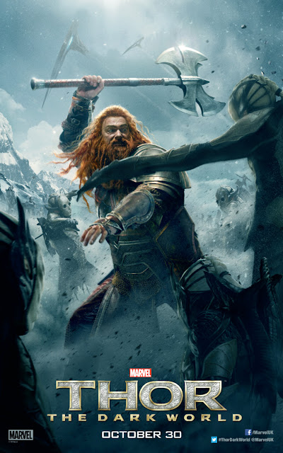 Thor: The Dark World Ray Stevenson Volstagg Character Banner