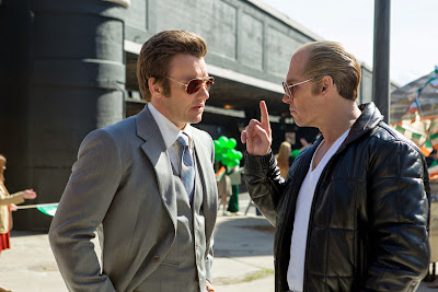 Johnny Depp and Joel Edgerton in Black Mass