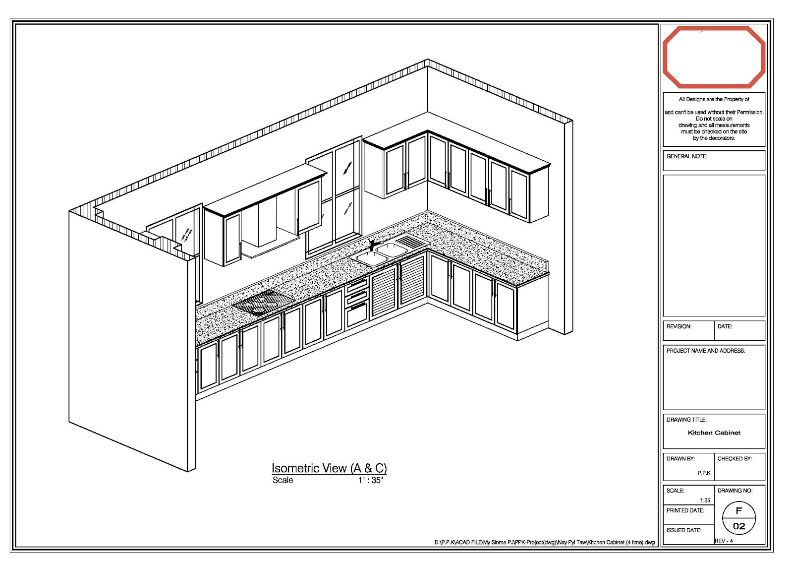 My Creation Autocad Drawing