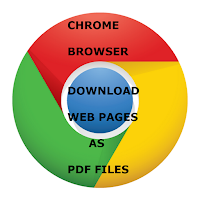 Chrome Browser Download Web Pages As PDF Files