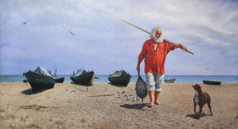 костка чонтвари старый рыбак
