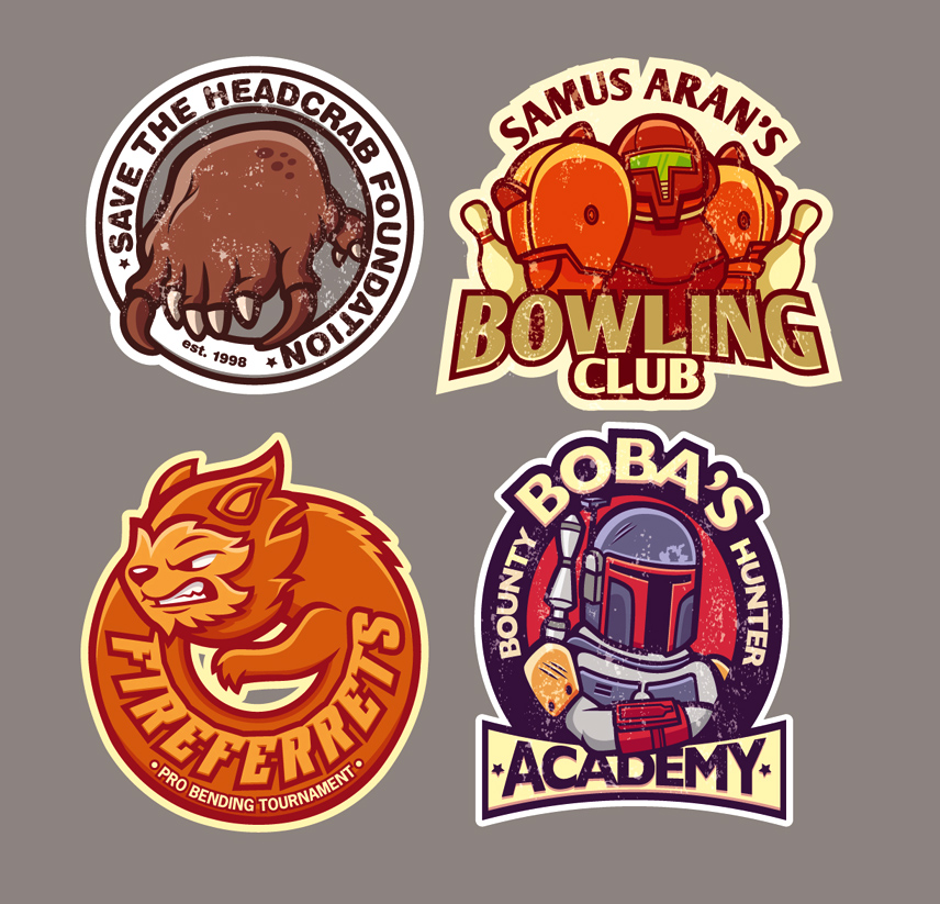 gaming stickers