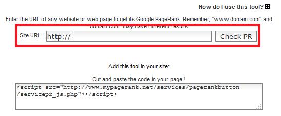 Cara Memasang Widget Pagerank di Blog
