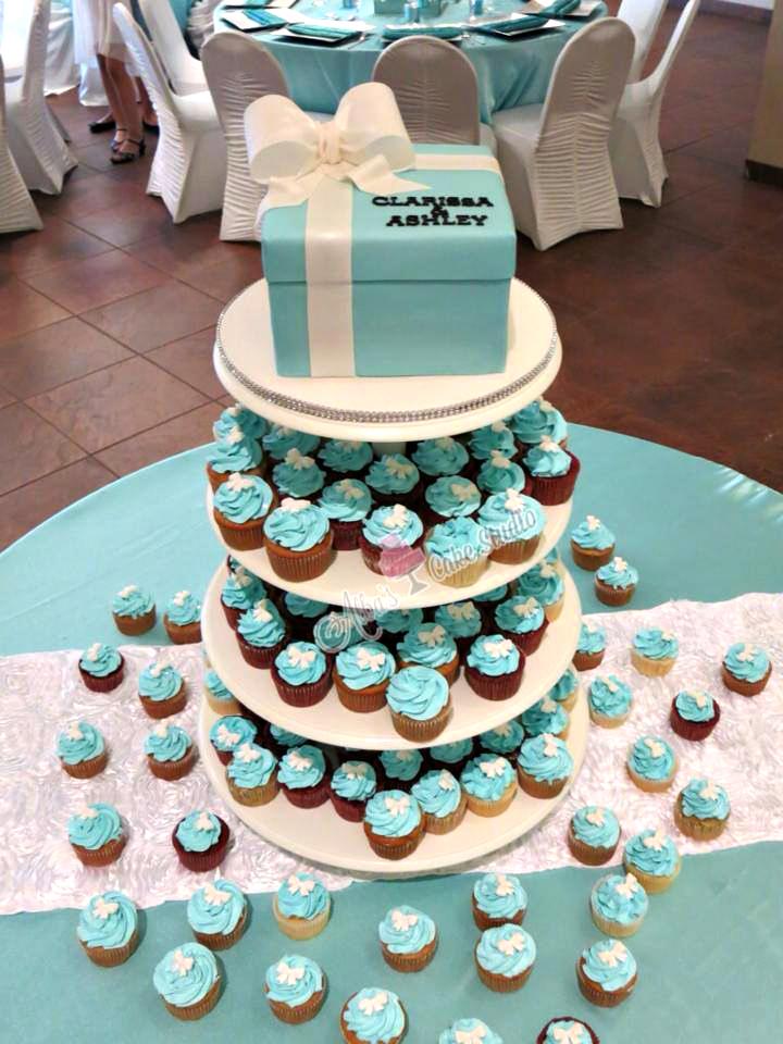 tiffany & co cupcake cakes