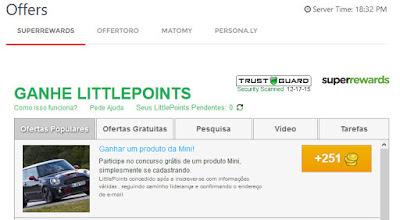 littlebux offers superrewards offertoro matomy persona.ly ptc tasks dinheiro money ganha make