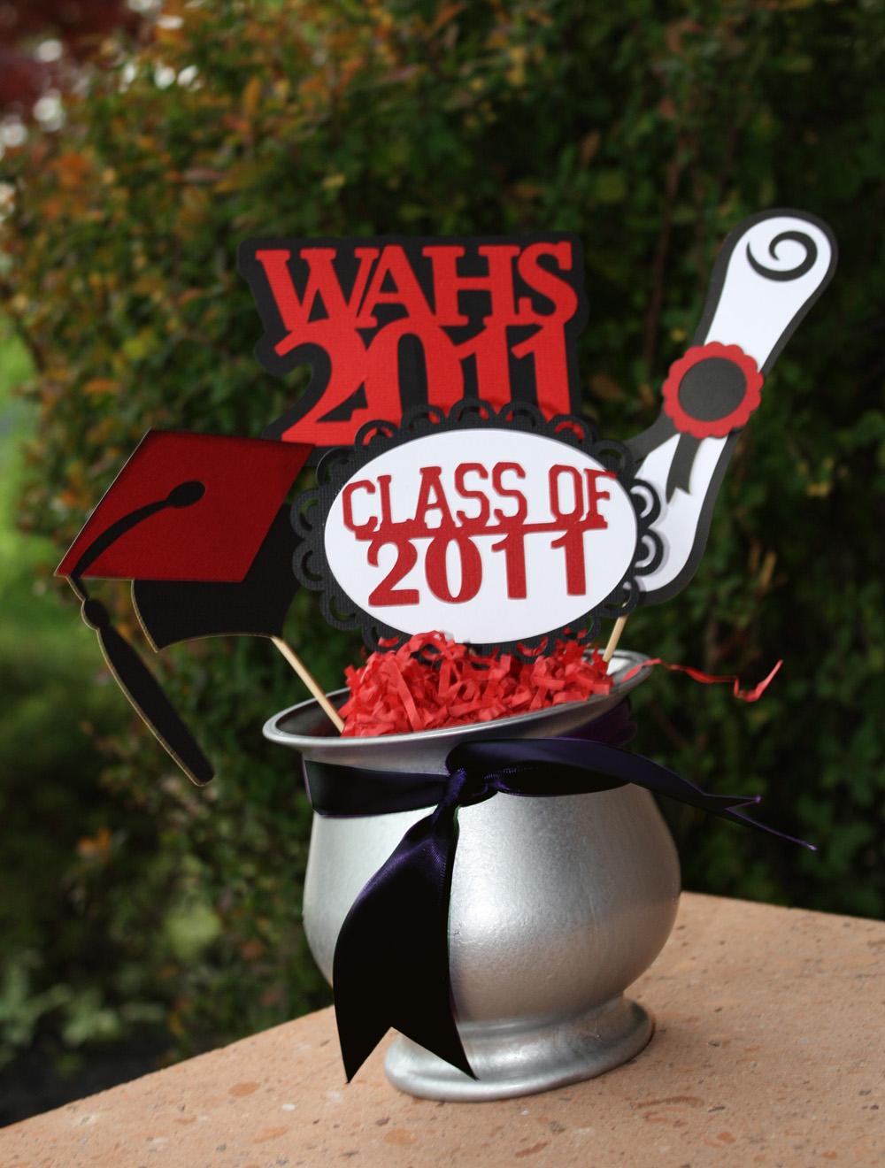 Graduation Centerpiece Ideas Cake And Designs