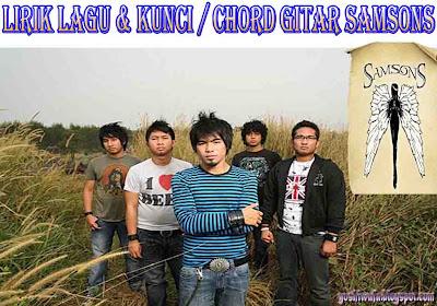 Chord Guitar SamsonS Kenangan Terindah