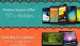 Mobiles, TVs & Laptops Free upto Rs. 5000 Amazon Gift Card