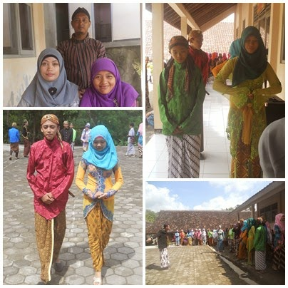 Peringatan Hari Kartini 21 April 2015 SMPN 4 Semin