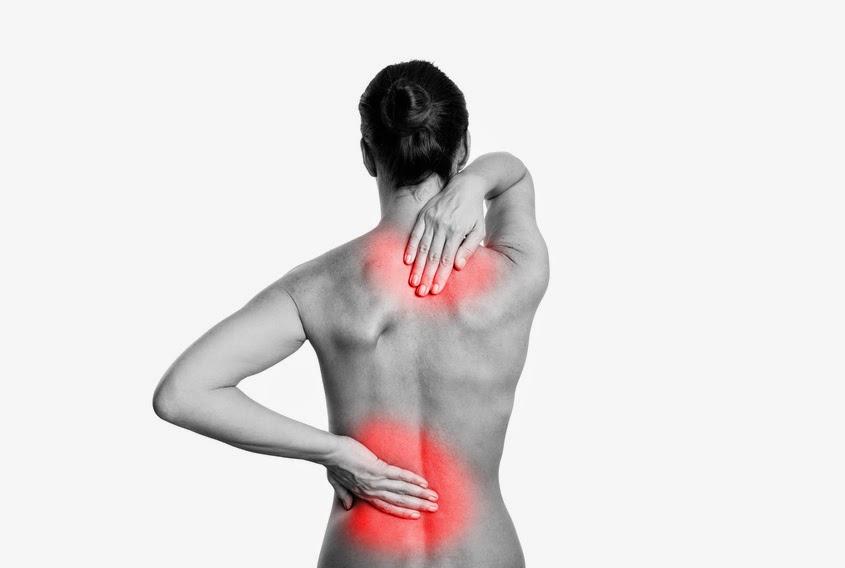 La infracción de la presencia del dolor en la espalda