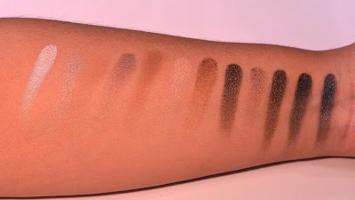 Naked 1 (Imitación) Swatches