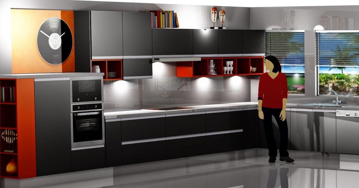 Dise o muebles de cocina dise o de cocina laminado gris for Disenar plano cocina