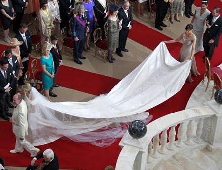 Сватбена церемония в двореца на Монако