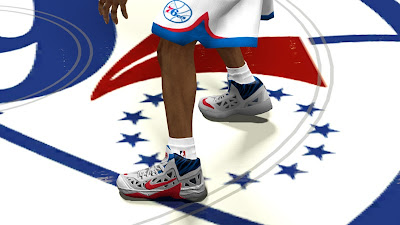 NBA 2K13 Nike Hyperfuse 2013 Shoes Colorway