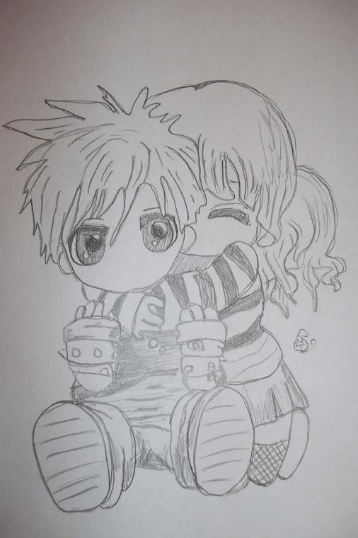 Le dessin sous l 39 oeil de marie tardy par marie tardy - Dessin manga amoureux ...
