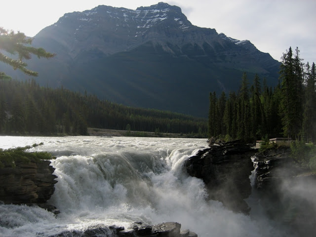 Icefields Highway Athabasca Falls