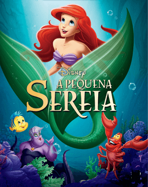 A Pequena Sereia Blu-Ray Legendado Baixar torrent download capa