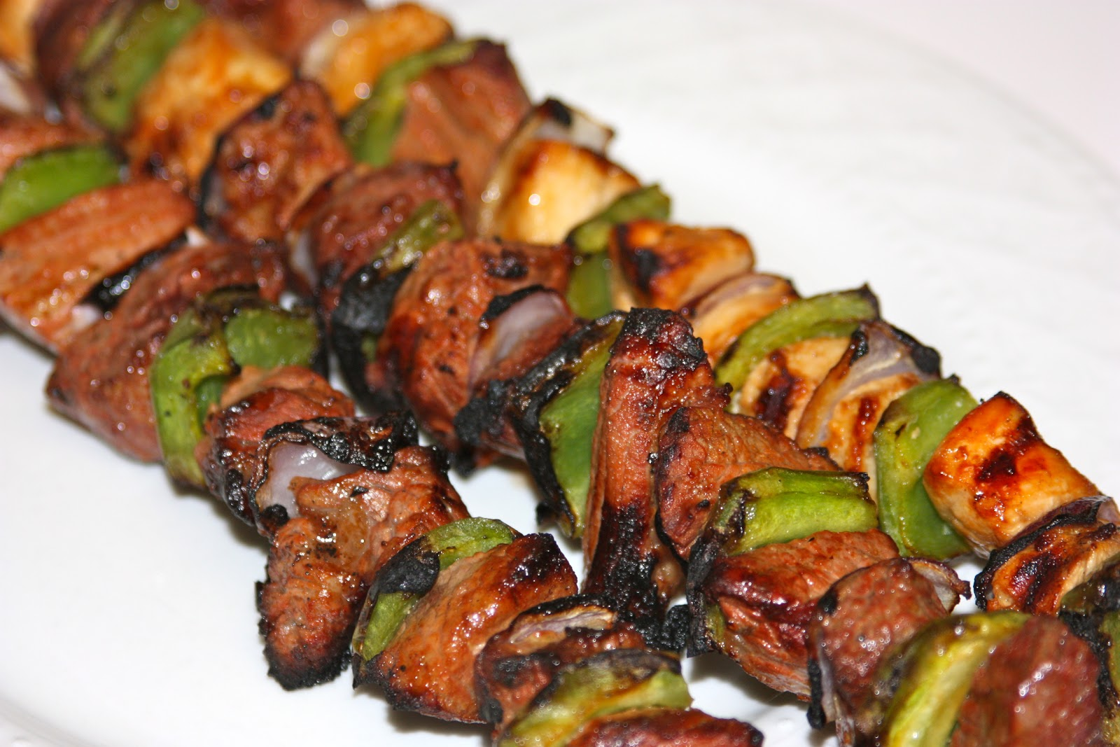Marinated Beef Kabobs Recipe — Dishmaps