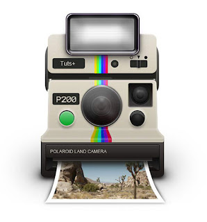 Draw the icon of Polaroid
