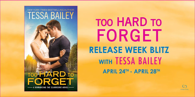 TOO HARD TO FORGET Release Day Blitz