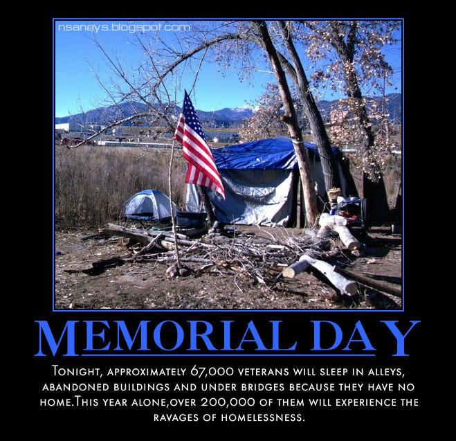 memorial day homeless veterans political memes memorial day homeless american veterans