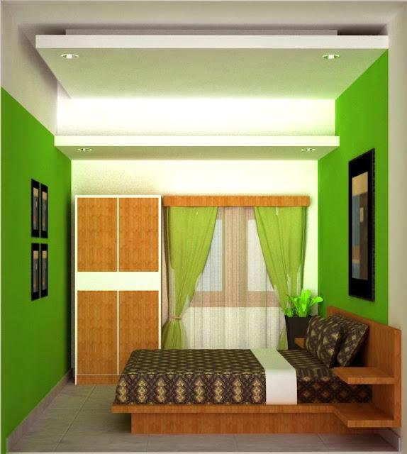 desain interior rumah miniamlis warna cat