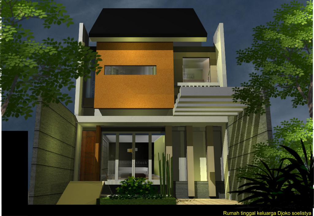 Cawah homes modern minimalist western themed orientation for Modern minimalist house design