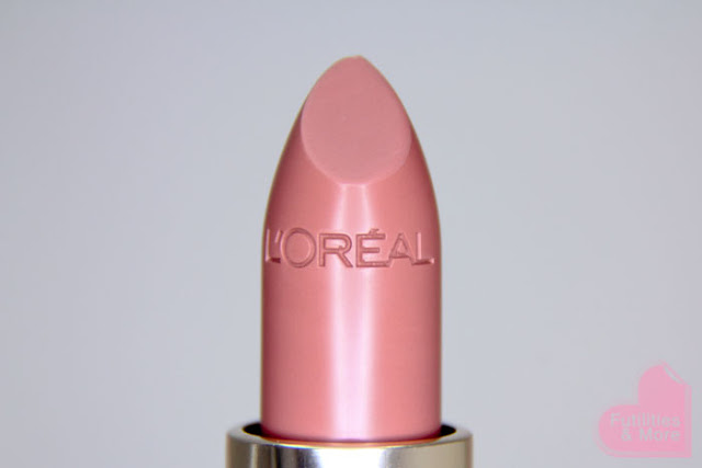 L'Oreal Lipstick Fairest Nude, nude lipstick, pink lipstick, natural, holly ann aeree, drugstore lipstick, makeup and beauty blog, makeup reviews, product reviews, cosmetics, make up, makeup, maquillage, tuto, tutorial, tutoriel, yeux, asiatique, futilitiesandmore.blogspot.com, futilities and more, futilitiesandmore, futilitiesmore