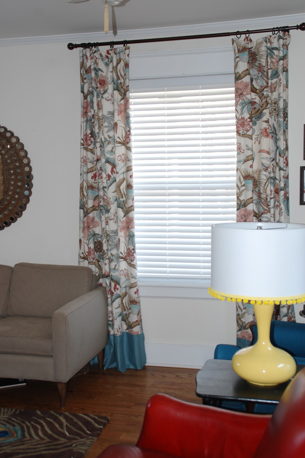 Living Room Curtain Ideas For Small Windows: Lisa Moves: Lengthening Curtains