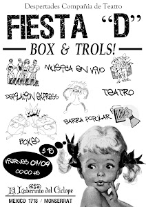 FIESTA BOX&amp;TROLLS $15