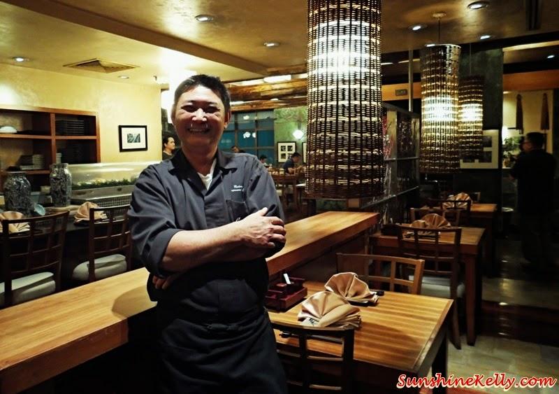 Genji Japanese Restaurant, Hilton Petaling Jaya, Osaka Tokyo Menu, Japanese Food, japanese chef, Chef Richard Teoh, Head Chef of Genji Japanese Restaurant