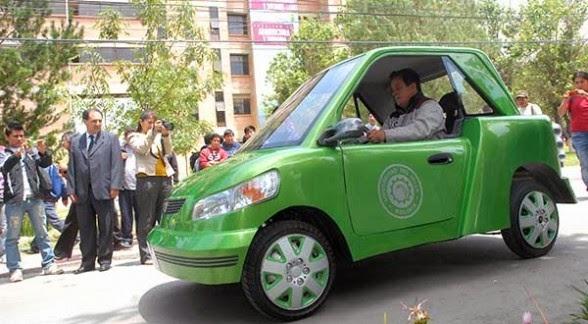 Autos electricos en Bolivia - Guanaco 1