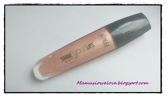 Błyszczyk Shine your lips 013 - JOKO